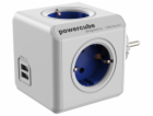 allocacoc PowerCube Original USB blue Type F for Extended Cubes