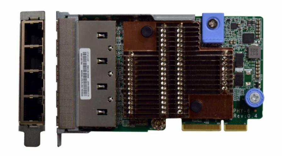 Lenovo ThinkSystem 1Gb 4-port RJ45 LOM - SR630, SR650, SR850, SR950