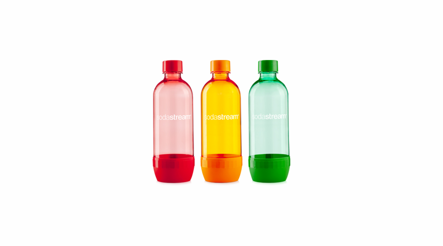 SodaStream láhev TriPack pomeranč/red/Blue 1 l