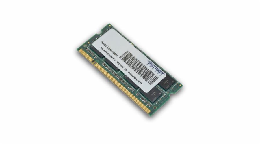 982b31b34c SO-DIMM 2GB DDR2-800MHz PATRIOT CL6