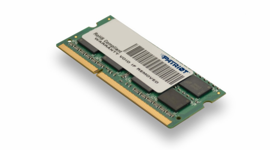 Patriot 4GB Ultrabook Line 1600MHz DDR3 CL11 SODIMM, pro Ultrabooky
