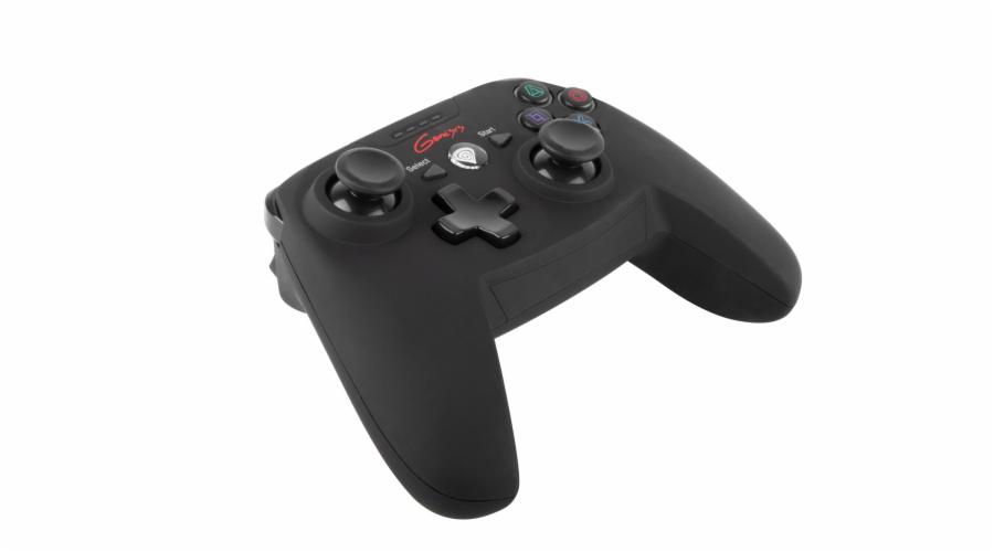 Bezdrátový gamepad Genesis PV58, PS3/PC, vibrace