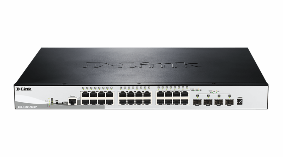 D-Link DGS-1510-28XMP Switch 24xGb+4xSFP+