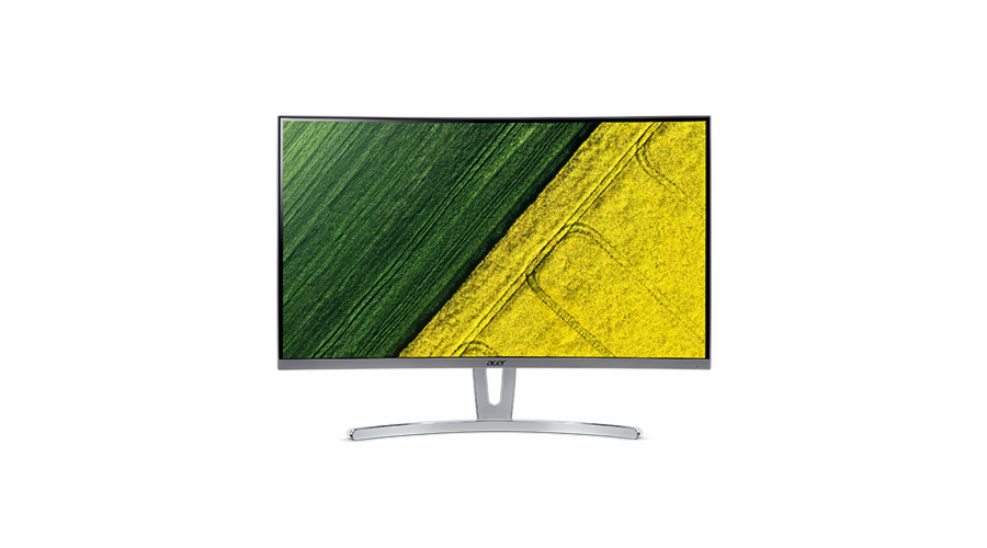 Acer LCD ED273wmidx 27'' LED Curved/1920x1080/100M:1/4ms/250nits/VGA/DVI/HDMI/repro 2x3W/Acer EcoDisplay/Silver