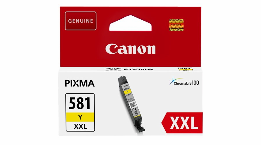 Canon cartridge INK CLI-581XXL Y