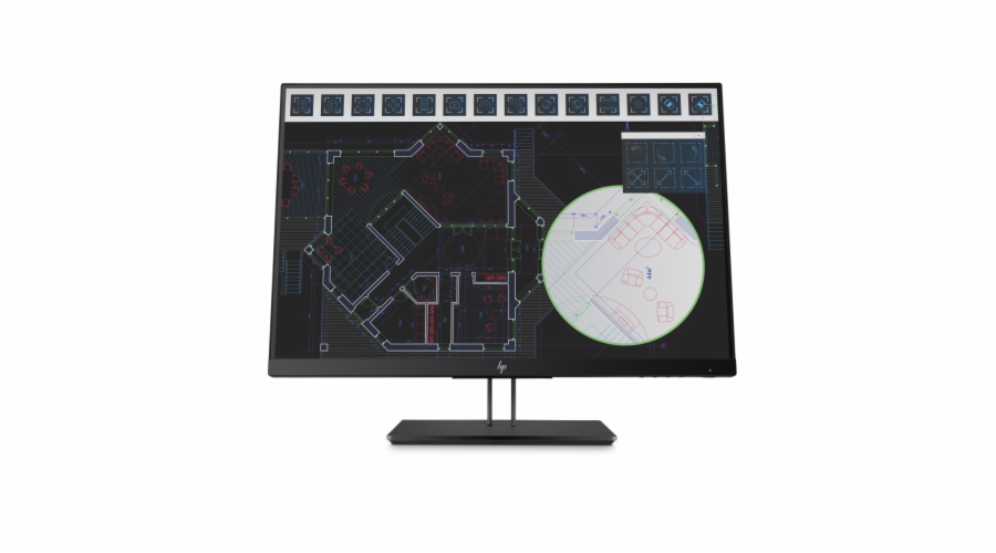 HP Z24i G2 24'' IPS FHD / 300cd / 5ms / 1000:1 / VGA, HDMI, DP / 3/3/0
