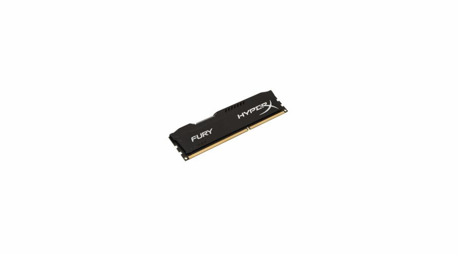 Kingston DDR3 8GB HyperX FURY DIMM 1600MHz CL10 černá
