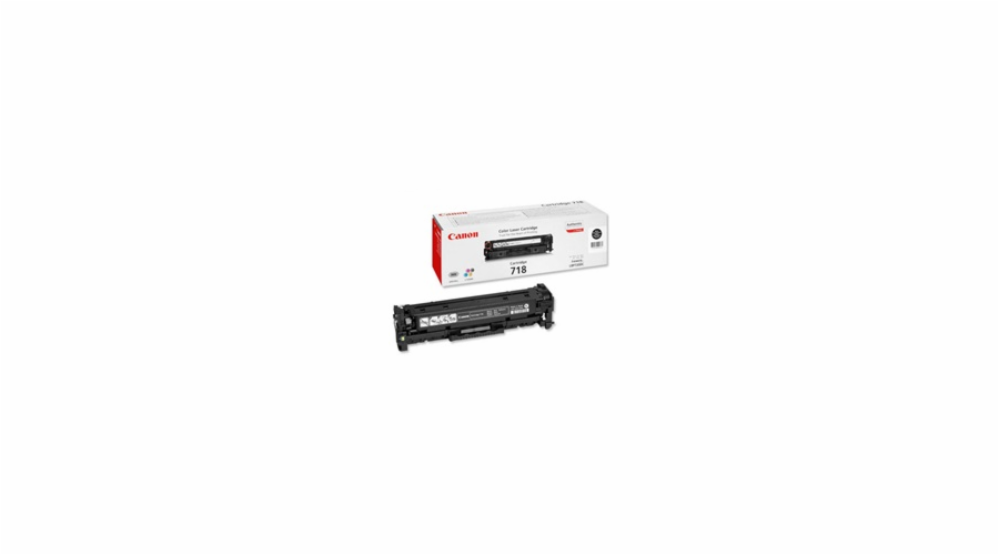 Canon Toner Cartridge 718 BK black