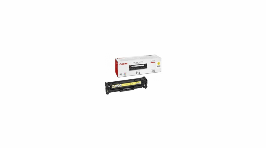 Canon Toner Cartridge 718 Y yellow