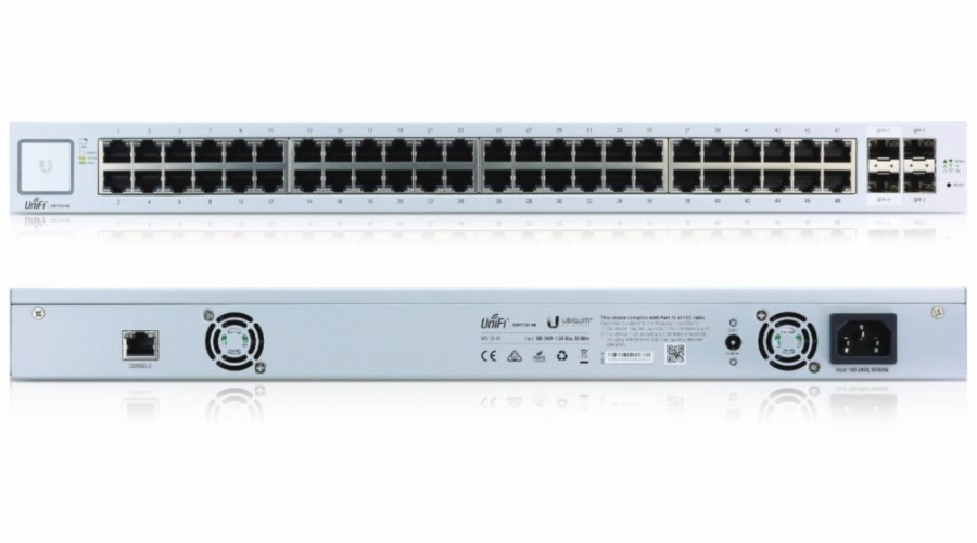 Ubiquiti UniFi 48-port Gigabit Ethernet Switch with SFP, no PoE
