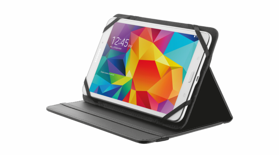 "TRUST Primo Folio Case with Stand for 7-8"" tablets - black"