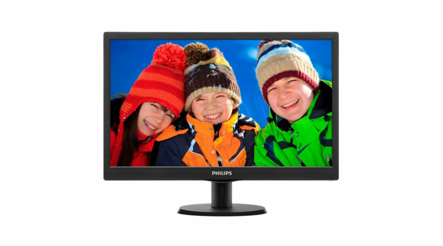 "Monitor Philips 203V5LSB26/10 (19,5""; TN; 1600 x 900; D-Sub / VGA; Black)"