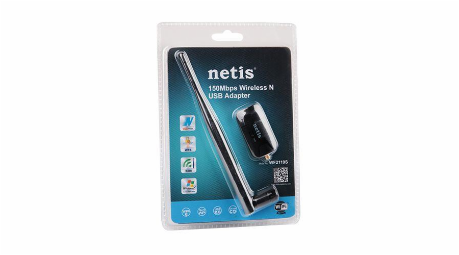 Netis WF2119S 150Mbps Wireless N USB Adapter