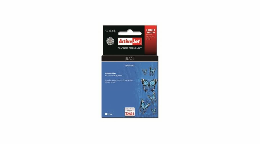 Ink ActiveJet AE-2621N | black | 22 ml | Epson T2621