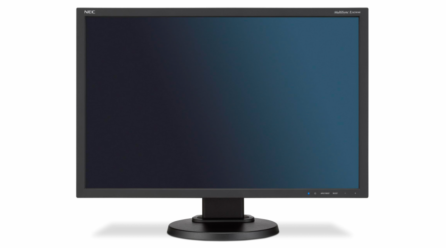 NEC LCD E245WMi 24'' LED, IPS, 6ms, VGA/DVI/DP, repro, 1920x1200, HAS, pivot, č
