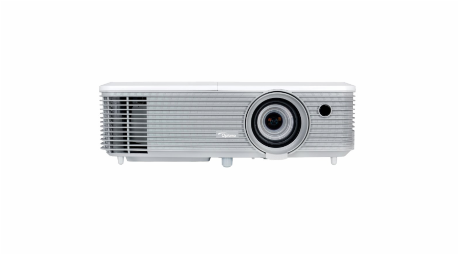Optoma projektor W400 (DLP, WXGA, Full 3D, 4000 ANSI, 22 000:1, USB, VGA, HDMI with MHL, 2W speaker)