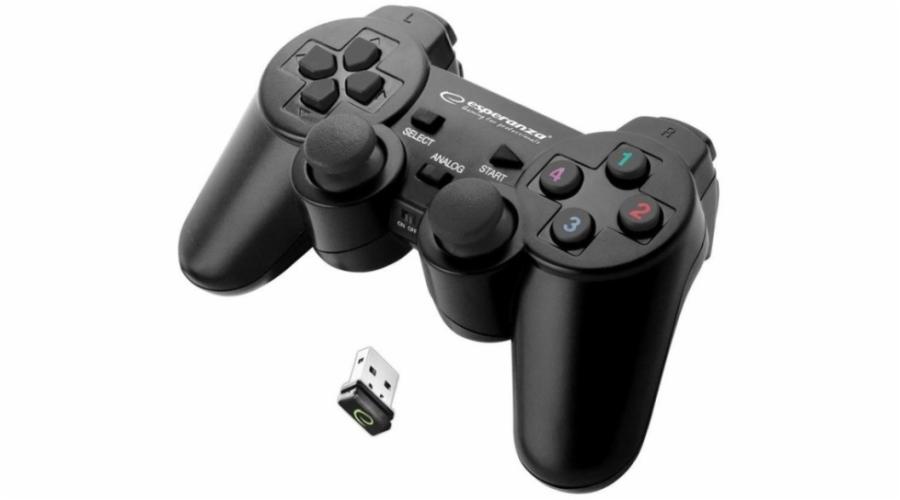 Esperanza Warrior Gamepad EG108K - Black