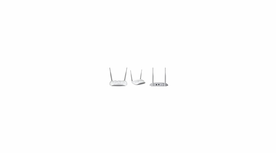 TP-LINK TL-WA801ND Wireles AccesPoint, 300 Mbps, MIMO, PoE, Repeater, Client, Bridge, Multi-SSID s VLAN, 2 odním.antény
