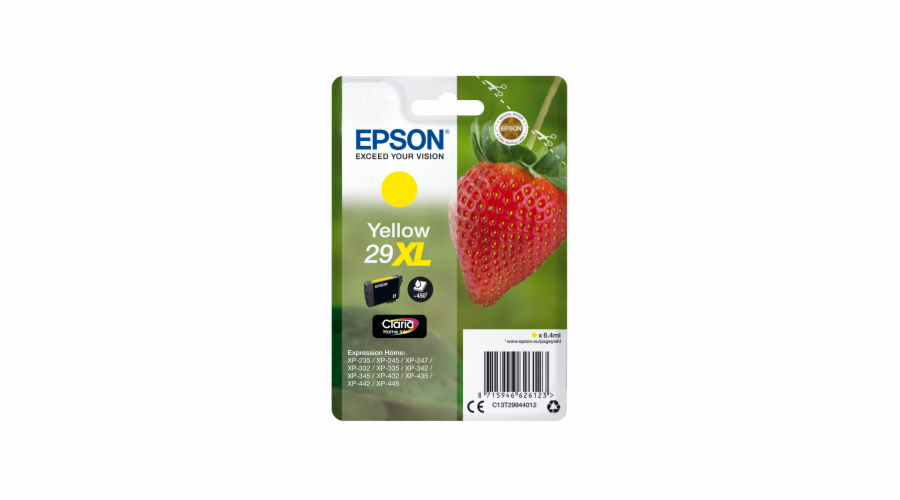 Ink Epson Singlepack Yellow 29 Claria Home Ink XL 6,4 ml