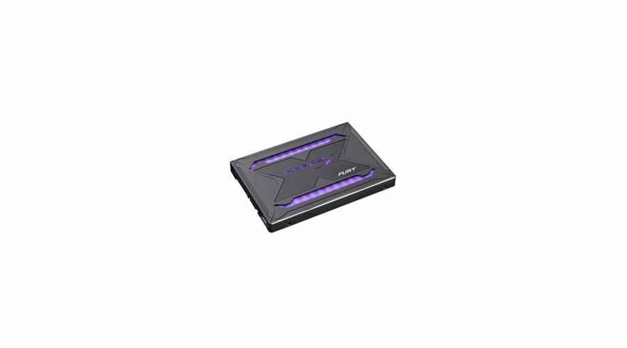"Kingston SSD 480GB HyperX FURY RGB SATA III 2.5"" 3D NAND 7mm"