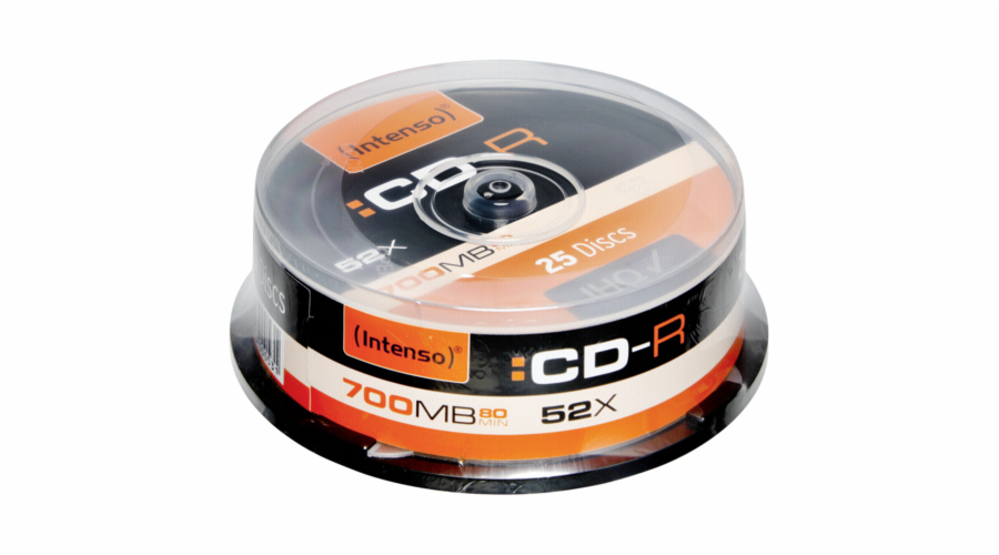 1x25 Intenso CD-R 80