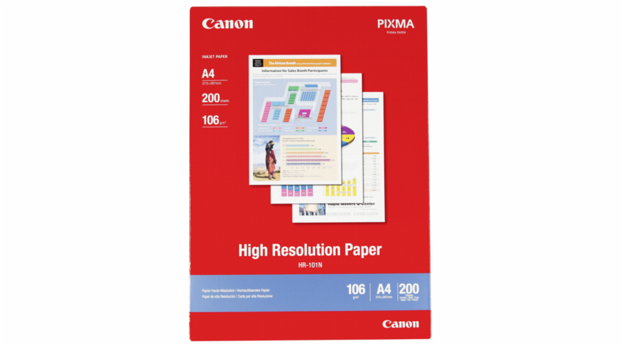Canon HR 101 N A 4, 200 listu Fotopapir 106 g
