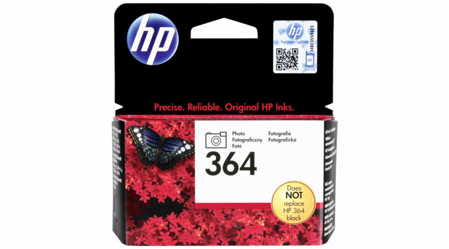 HP CB 317 EE cartridge photo cerna c. 364