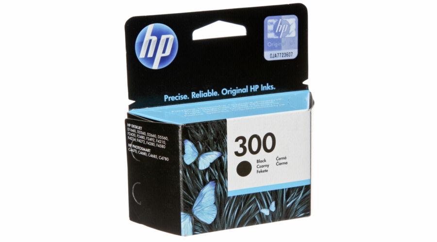 HP CC 640 EE cartridge cerna No. 300