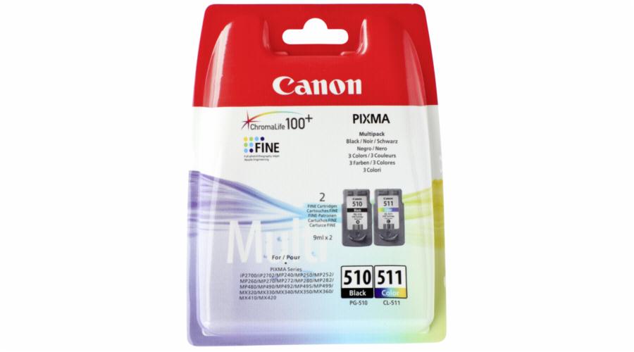 Canon PG-510 cerna / CL-511 barevna Multi Pack