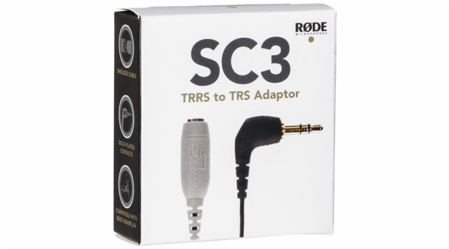 Rode SC3 Adapter 3,5mm TRRS zu TRS pro smartLav
