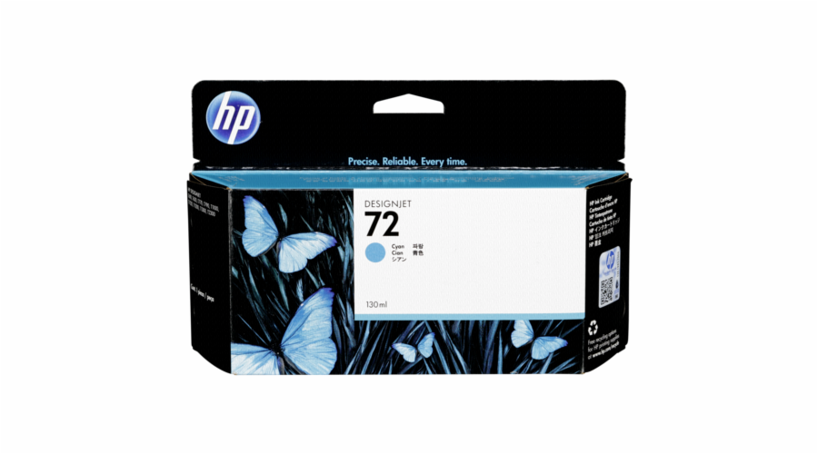 HP C 9371 A ink cartridge cyan Vivera No. 72