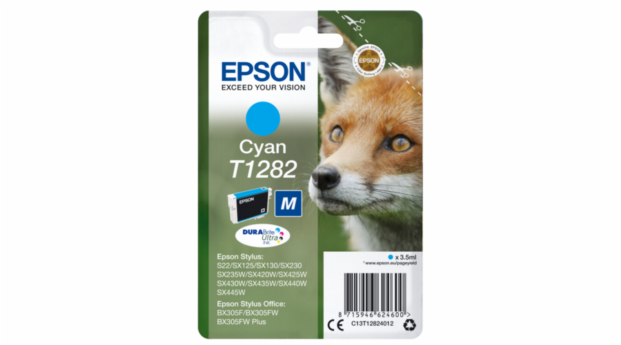 Epson ink cartridge cyan DURABrite T 128 T 1282