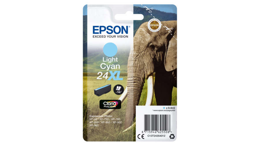 Epson ink cartridge XL light cyan Claria Home HD T 2435