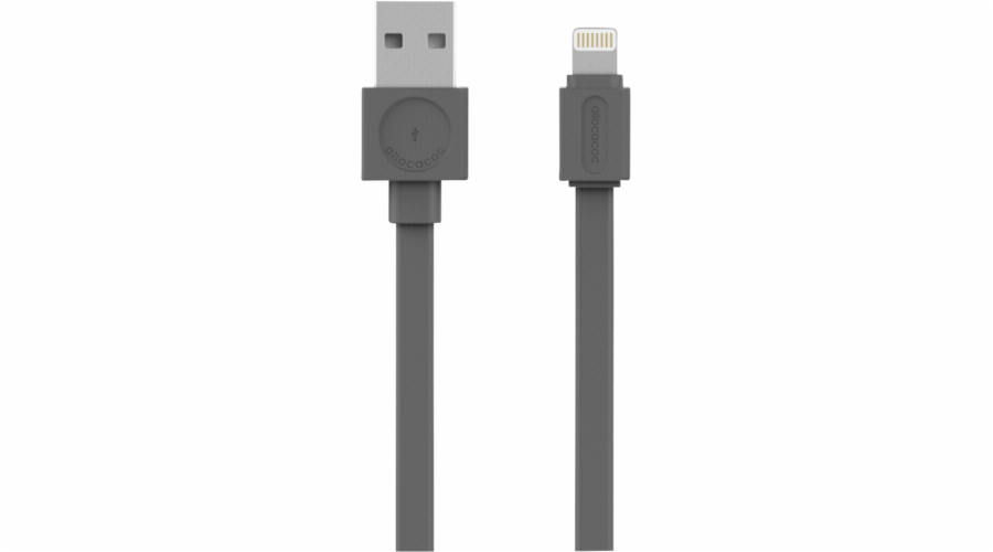 allocacoc USB Cable Lightning grey