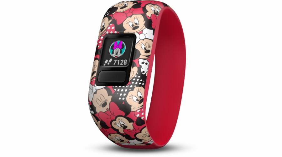 Garmin vivofit jr. 2 Minnie Mouse red