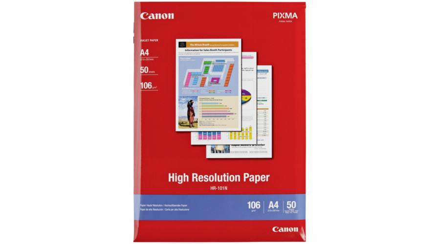 Canon HR-101 N A 4, 50 listu Fotopapir 106 g