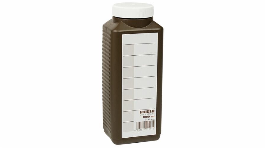 Kaiser lahev pro chemikalie 1l hneda 4193