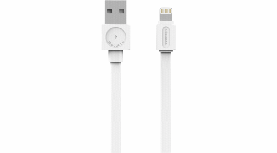 allocacoc USB Cable Lightning white