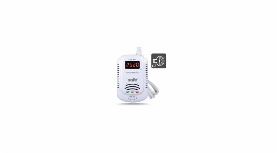 SAFE 808L Autonomní detektor hořlavých a výbušných plynů s LCD