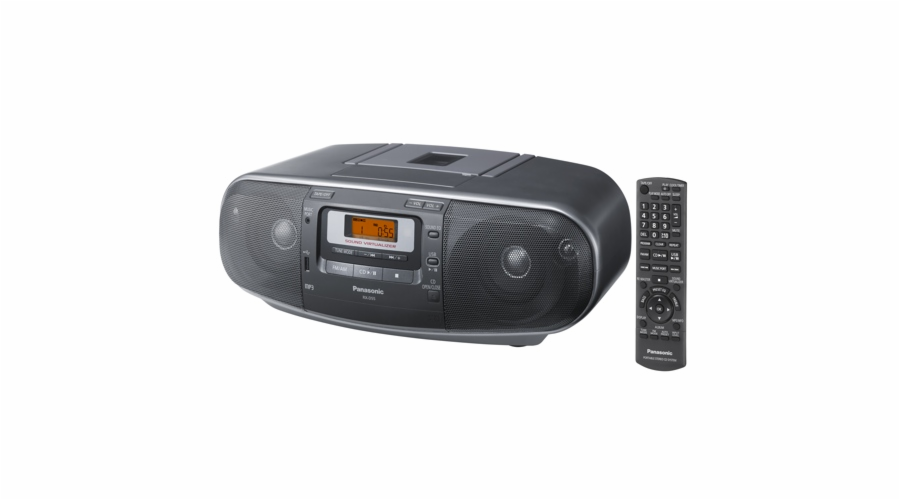 Radiomagnetofon Panasonic RX-D55EG-K, s CD/MP3