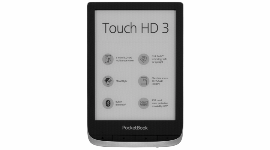 Pocketbook Touch HD3 metallic grey