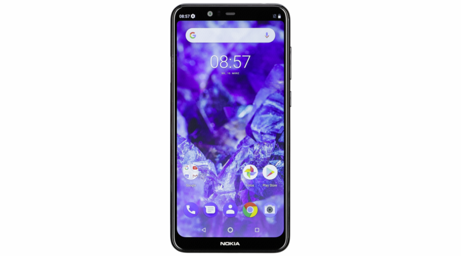 Nokia 5.1 Plus Dual-SIM black 32GB