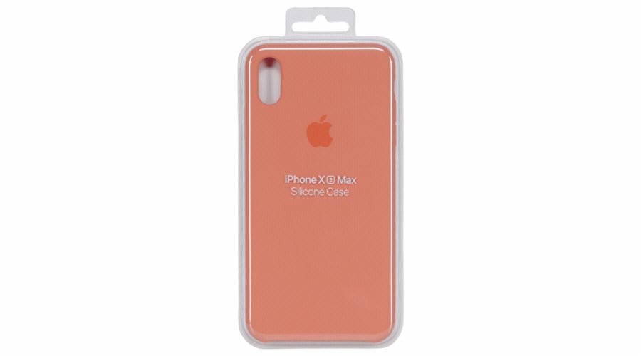 Apple iPhone XS Max Silicone Case Papaya