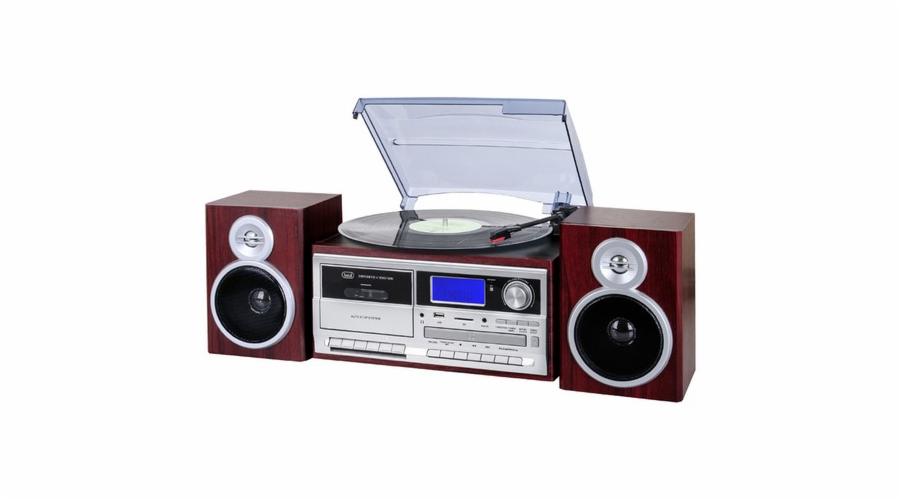 TT 1070 E/WD Gramofon+rádio+BT, dřevo