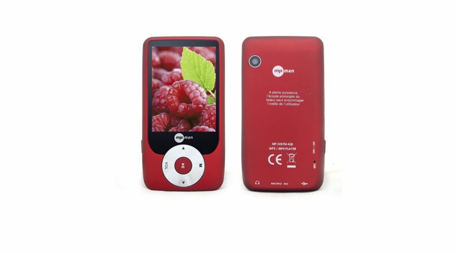 MP 269/8GB RED MP3/MP4