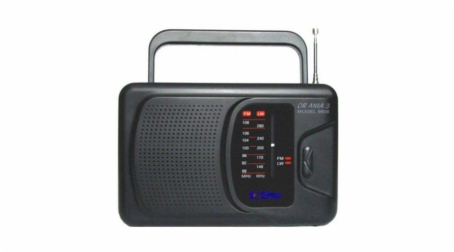 Rádio Eltra Ania 3 černé