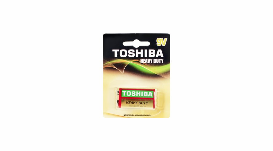Baterie Toshiba Heavy Duty 6F22 1BP 9V