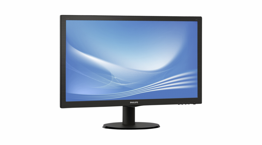 """Philips 223V5LSB/00 54,6 cm (22"""") 16:9 Full HD Monitor VGA/DVI 5 ms 10Mio:1"""