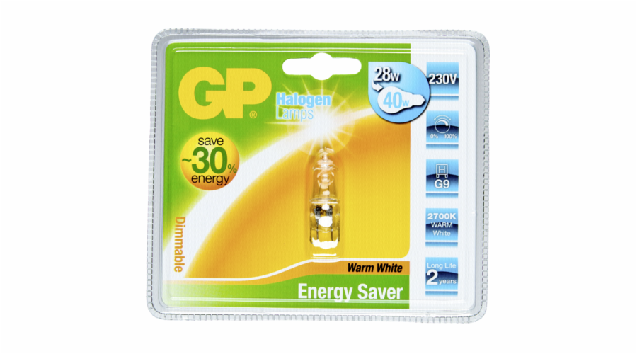 GP Lighting Halogen Kapsel ESL 28W/230V G9
