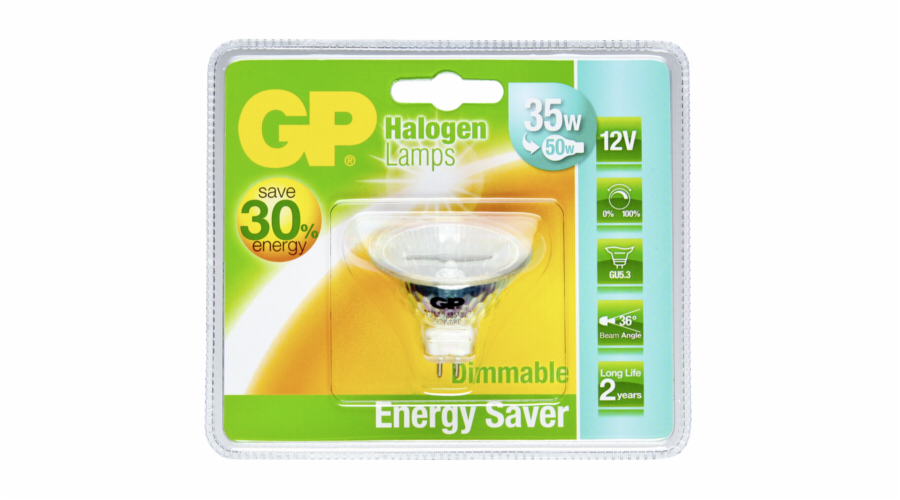 GP Lighting Halogen. Reflektor 35W/12V GU5.3 MR16 ESL 1500 cd